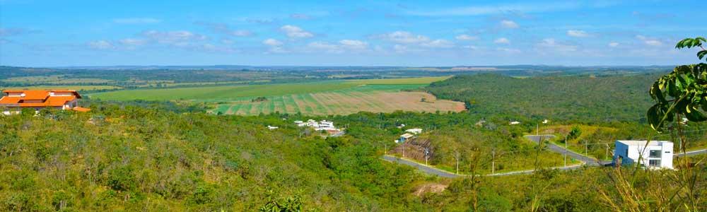 Vista panorâmica do Reserva