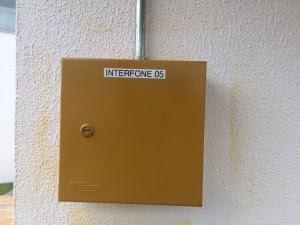 instalação de interfones nas áreas comuns