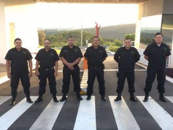 Equipe da área de segurança recebe novos uniformes