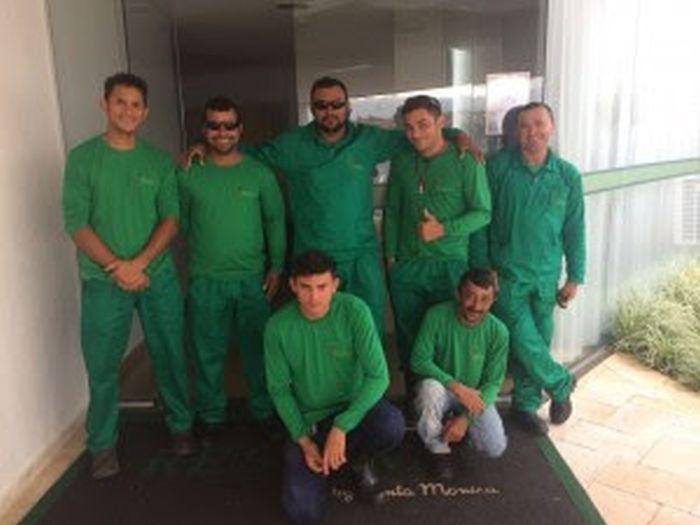Equipe de manutenção recebe novos uniformes