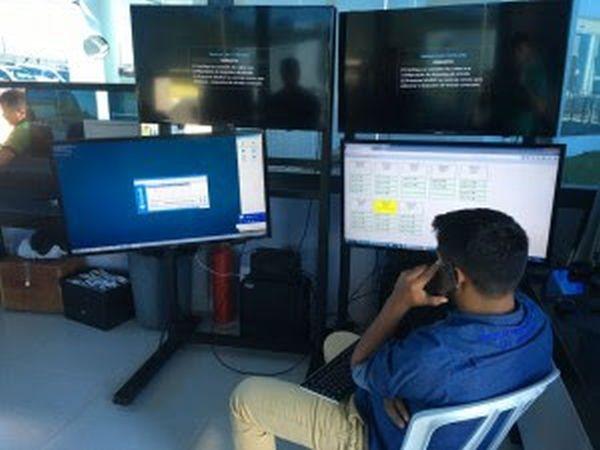 Sistema de CFTV recebe manutenção preventiva